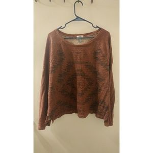 Old Navy - Tribal Cropped Sweater
